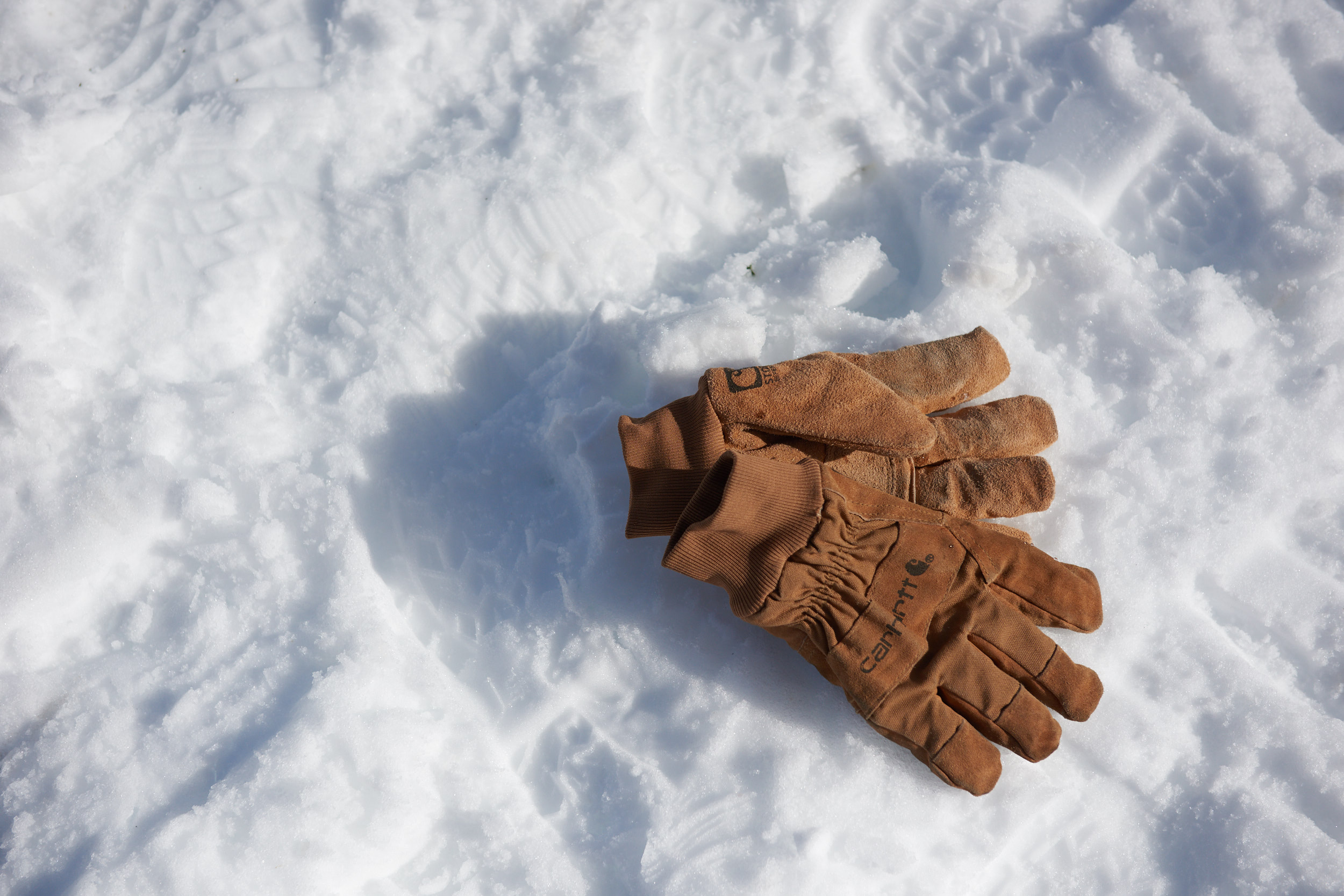 carhartt gloves advertising photography